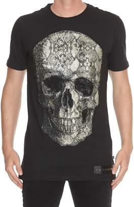 Philipp Plein Python Skull T-shirt