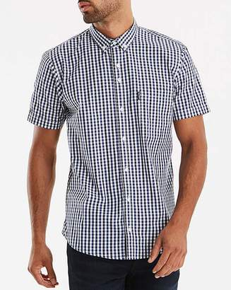 Lambretta Multi Gingham Check Shirt Long