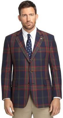 Brooks Brothers Regent Fit Signature Tartan Madras Sport Coat Sport Coat