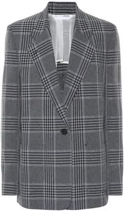 Acne Studios Checked cotton-blend blazer
