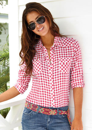 Ramona Gingham Shirt