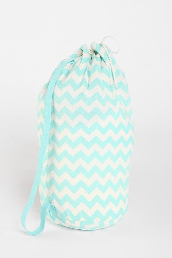 UO Assembly Home Zigzag Over-The-Shoulder Laundry Bag