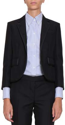 Thom Browne Wool And Mohair Tuxedo Blazer