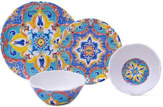 222 Fifth Romella 12-Pc. Melamine Dinnerware Set