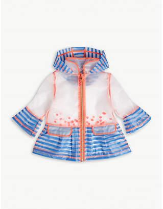 Billieblush Billie Blush Transparent hooded raincoat 6-36 months