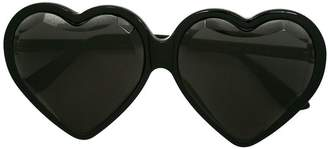Gucci specialized-fit heart frame sunglasses