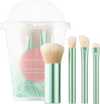 Sephora Collection COLLECTION - Oh so matcha brush set