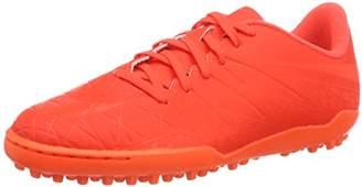Nike Hypervenom Phelon Ii Tf, Unisex Kids' Footbal Shoes, Red (Bright Crimson/Hyper Orange), (36.5 EU)