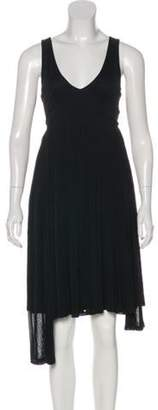 Celine Sleeveless Pleated Dress Black Sleeveless Pleated Dress