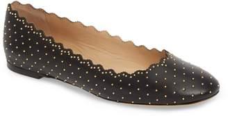 Chloé Lauren Studded Ballet Flat