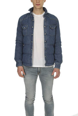 Remi Relief Quilted Denim Western Shirt