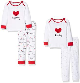 Mothercare Baby Mummy & Daddy Pyjama Sets,(Manufacturer Size: 68 cms)