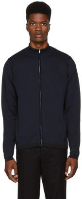 Norse Projects Navy and Black FjordSweater