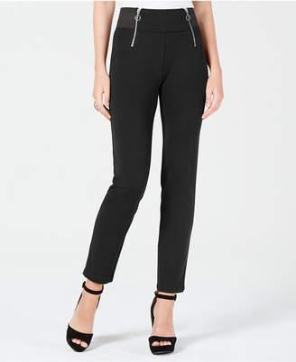 XOXO Juniors' Double-Zipper Skinny Pants