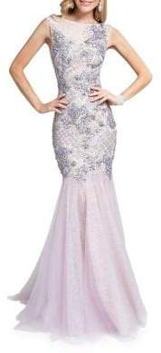 Terani Couture Glamour by Bateauneck Sleeveless Dress