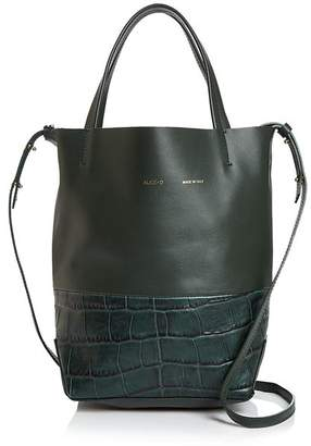 Alice.D Small Croc-Embossed Leather Tote - 100% Exclusive