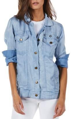 Michael Stars Oversized Denim Jean Jacket