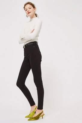 Topshop Womens Tall Black Jamie Jeans