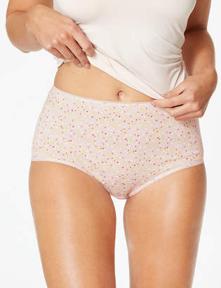 425add8a692a M&S CollectionMarks and Spencer 5 Pack Cotton Rich Full Brief Knickers