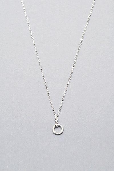Dogeared Mini Karma Necklace in Silver