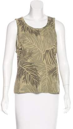 Calypso Sleeveless Printed Top w/ Tags