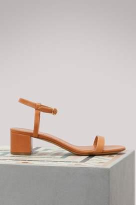 Mansur Gavriel Plant leather sandals
