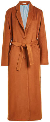 Mes Demoiselles Maxi Coat with Wool