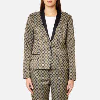 Maison Scotch Women's Jacquard Blazer