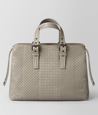 Bottega Veneta DARK CEMENT INTRECCIATO AURELIO CALF TOTE
