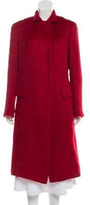 Donna Karan Alpaca Long Coat