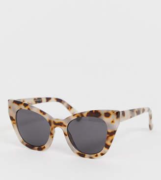 3a4a747ffed Cat Eye Stradivarius rounded cateye sunglasses in multi