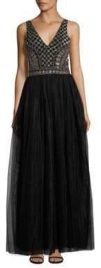 Parker Courtney Embellished Gown