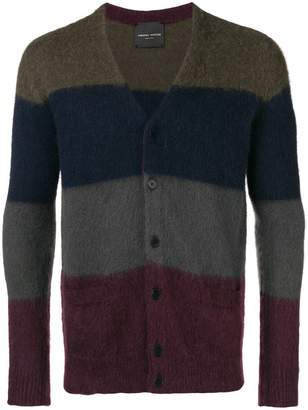 Roberto Collina striped cardigan