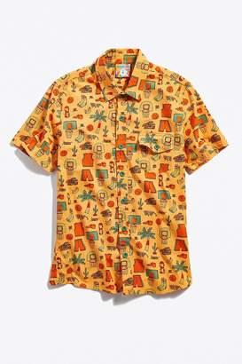 Mokuyobi Short Sleeve Button-Down Shirt