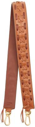 Loewe Laced-leather bag strap