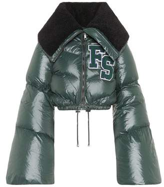 Rihanna Fenty by Quilted puffer jacket