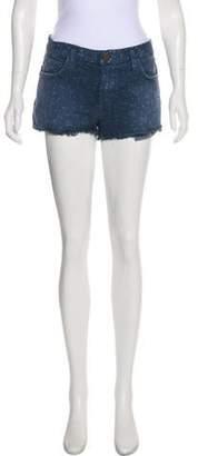 Current/Elliott Printed Mini Shorts