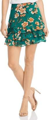 Bardot Rah Rah Floral Ruffle Skirt - 100% Exclusive