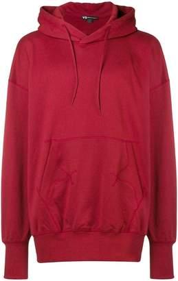 Y-3 Adidas X Yohji Yamamoto Stacked logo hoodie