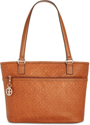 Giani Bernini Embossed Logo Tote