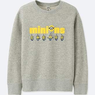 Uniqlo Kid's Minions Long-sleeve Sweatshirt