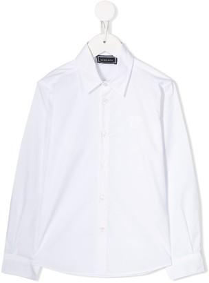 Versace pointed collar shirt