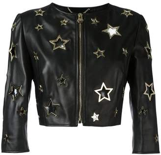 Philipp Plein Bolero pelle Cannot jacket