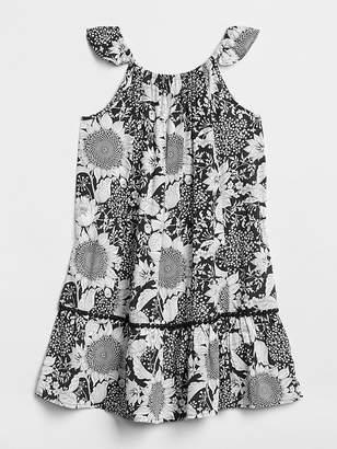 Gap Print Flutter Tier Dress