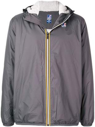K-Way zipped wind breaker