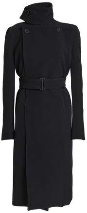 Belted Ponte Trench Coat