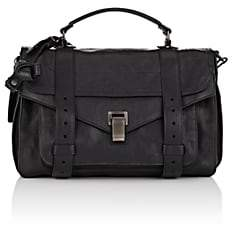 Proenza Schouler Women's PS1 Medium Leather Shoulder Bag - Black