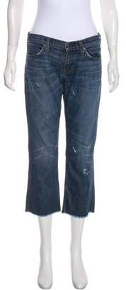 Elizabeth and James Mid-Rise Straight-Leg Jeans