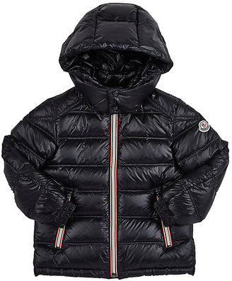 Moncler Gaston Channel-Quilted Coat $485 thestylecure.com