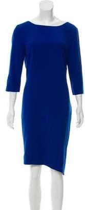 Halston Knee-Length Shift Dress